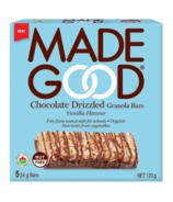 MadeGood Drizzled Granola Bar Vanilla