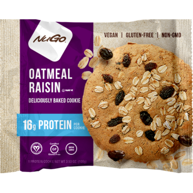 NuGo Protein Cookie Oatmeal Raisin