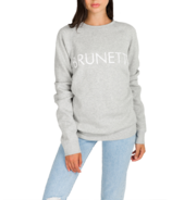 Brunette The Label Brunette Crewneck Pebble Grey