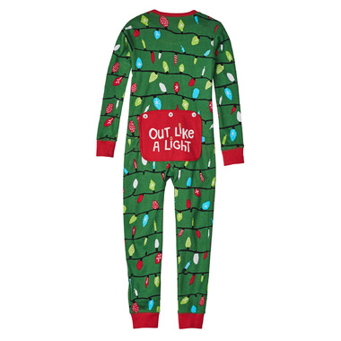 Little Blue House by Hatley Kids Union Suit Northern Lights