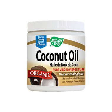 Nature\'s Way Organic Virgin Coconut Oil