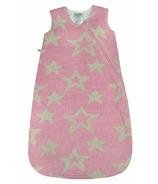 Perlimpinpin Chenille Sleep Bag Pink Stars