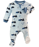 ZippyJamz Little Adventurer Footed Sleeper