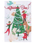 Now Designs Tea Towel Christmas Tree Decorating