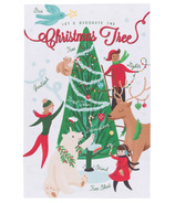 Now Designs Tea Towel Christmas Tree Decorating