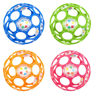 Bright Starts Oball 4 Inch Oball with Rattle
