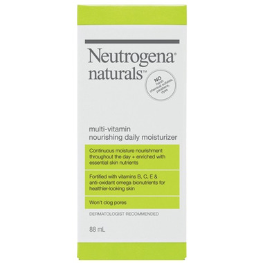 Neutrogena Naturals Multi-Vitamin Nourishing Daily Moisturizer