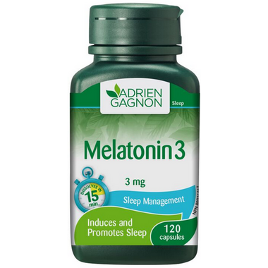 Adrien Gagnon Melatonin 3 mg