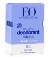 EO Deodorant Wipes Lavender