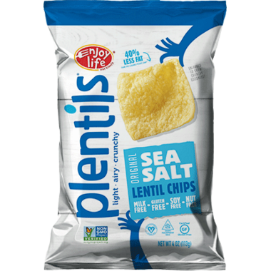 Enjoy Life Plentils Light Sea Salt Lentil Chips