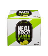 Neal Brothers Bière Blonde Sans Alcool à la Lime