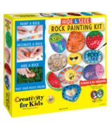 Creativty for Kids Hide & Seek Rock Painting Kit