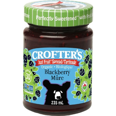 Crofter\'s Organic Blackberry Just Fruit Spread