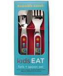 Crocodile Creek Cutlery Set Kids World