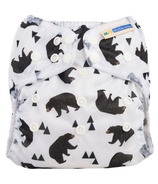 Mother ease Wizard Uno All-in-One Cloth Diaper Bear Bum