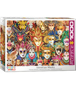 Eurographics Colors Of The World Venetian Masks Puzzle