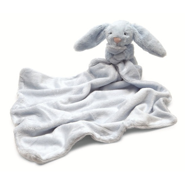 Jellycat Bashful Bunny Light Blue Soother