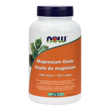 NOW Foods 100% Pure Magnesium Oxide Powder