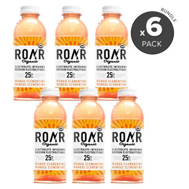 ROAR Organic Mango Clementine Organic Electrolyte Infusion Bundle