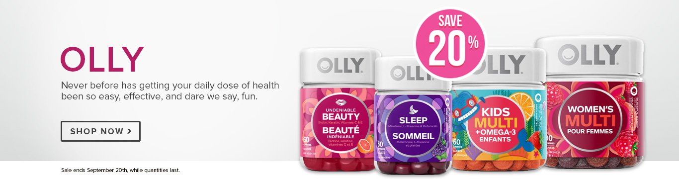 Save 20% on Olly
