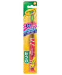 GUM Crayola KIds Timer Light Toothbrush