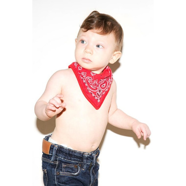 FCTRY Bandana Bibs Red, Yellow and Blue