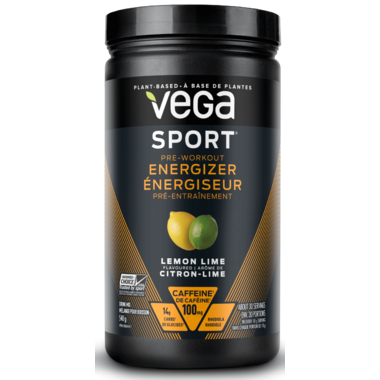 Vega Sport Pre-Workout Energizer Lemon Lime