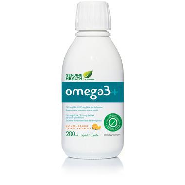 Genuine Health Omega3+ Liquid