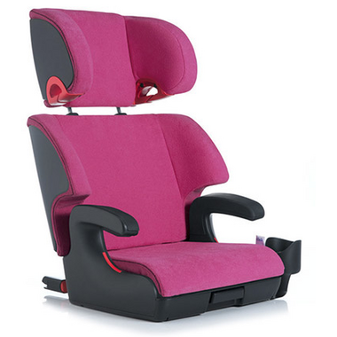 Clek Oobr Full Back Booster Seat Flamingo