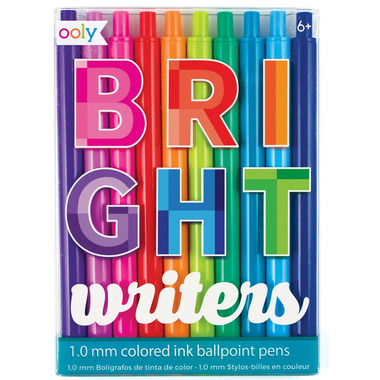 OOLY Bright Writers Colored Ball Point Pen