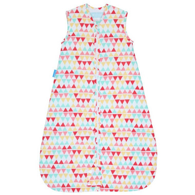Grobag Baby Sleep Bag 1.0 Tog Rouge Zig Zag