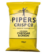 Pipers Crisps Lye Cross Cheddar and Onion Crisps
