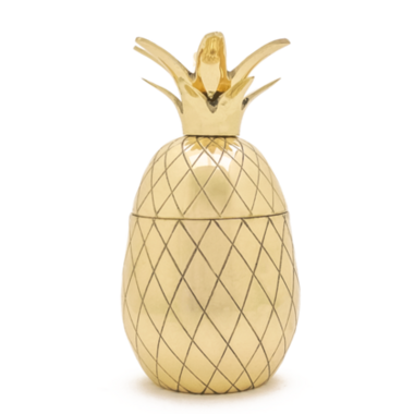 W&P Pineapple Tumbler Gold