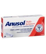 Anusol Multi-Symptom Hemorrhoidal Suppositories