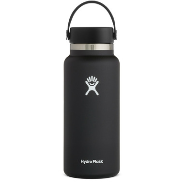 Hydro Flask Wide Mouth With Flex Cap Black 2.0
