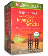 Uncle Lee's Whole Leaf Organic Japanese Sencha Tea