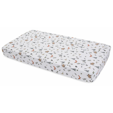 Little Unicorn Cotton Muslin Crib Sheet Forest Friends