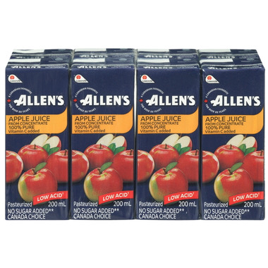 Allen\'s Apple Juice Boxes