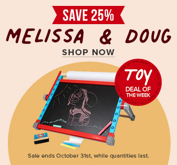 Save 25% on Melissa & Doug - Deal of the Week