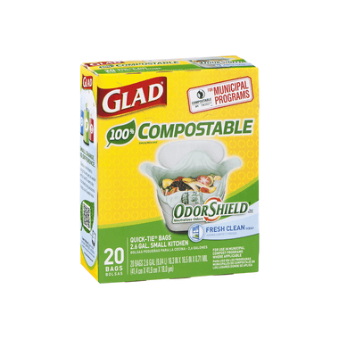 Glad Open Top Compostable Bags