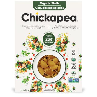 Chickapea Organic Shells Pasta