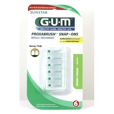 GUM Proxabrush Snap-On Refills