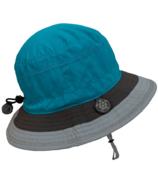 Calikids Quick Dry Bucket Hat Turquoise Combo