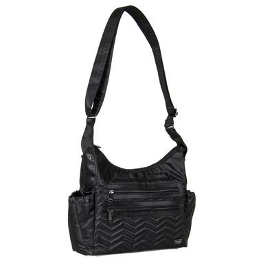 Lug Camper Cross-Body Bag Midnight Black