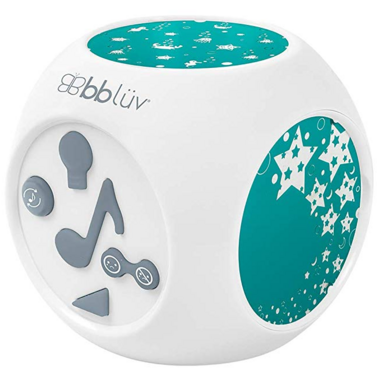 bbluv Kube Musical Night Light with Projection