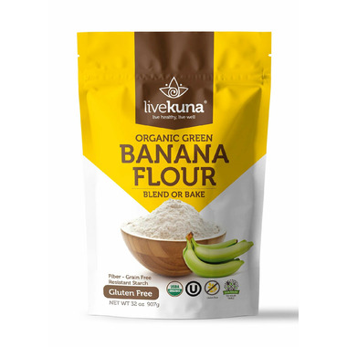 Livekuna Organic Banana Flour
