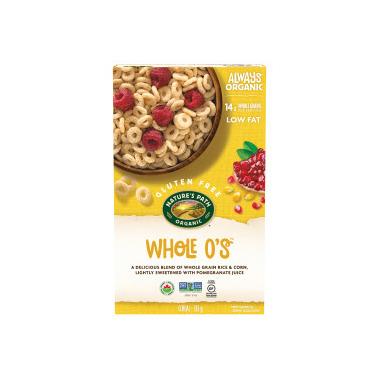 Nature\'s Path Organic Whole O\'s Cereal