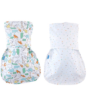 Groswaddle Animal Fair Newborn Twin Pack