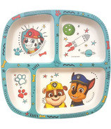 Paw Patrol Chase & Friends Bamboo Divided Plate