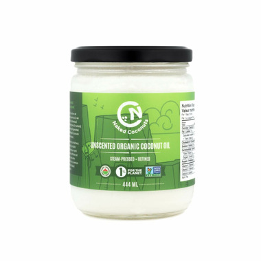 Naked Coconuts Unscented Coconut Oil Small